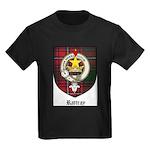 Rattray Clan Crest Tartan Kids Dark T-Shirt