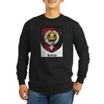 Rattray Clan Crest Tartan Long Sleeve Dark T-Shirt