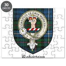 Robertson Clan Crest Tartan Puzzle