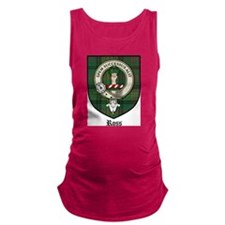 Ross Clan Crest Tartan Maternity Tank Top