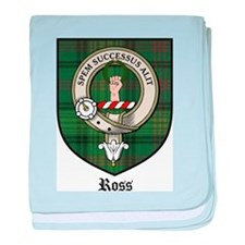 Ross Clan Crest Tartan baby blanket