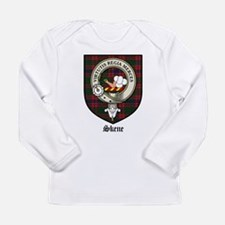 Skene Clan Crest Tartan Long Sleeve Infant T-Shirt