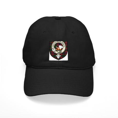 Skene Clan Crest Tartan Black Cap