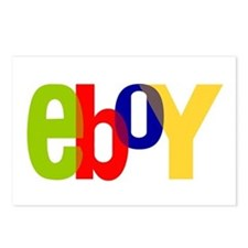 e boy's Postcards (Package of 8)