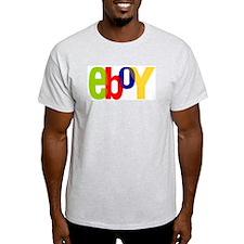 e boy's Ash Grey T-Shirt