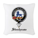 Stenhouse.jpg Woven Throw Pillow