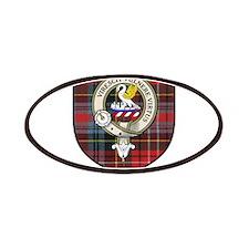 Stewart Clan Crest Tartan Patches