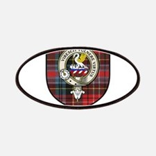 Stewart Clan Crest Tartan Patches