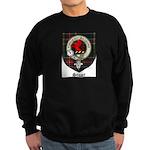 Stuart Clan Crest Tartan Sweatshirt (dark)
