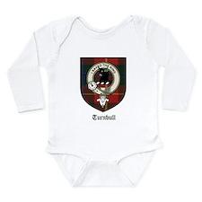 Turnbull Clan Crest Tartan Long Sleeve Infant Body