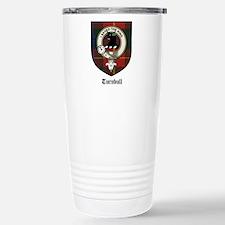 Turnbull Clan Crest Tartan Travel Mug