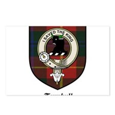 Turnbull Clan Crest Tartan Postcards (Package of 8