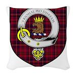 Walker Clan Crest Tartan Woven Throw Pillow