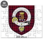 Walker Clan Crest Tartan Puzzle