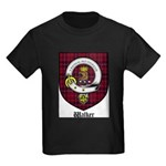 Walker Clan Crest Tartan Kids Dark T-Shirt
