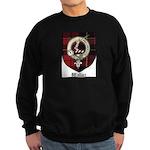 Wallace Clan Crest Tartan Sweatshirt (dark)