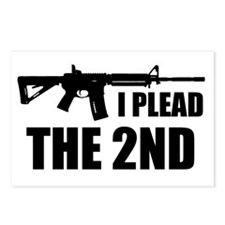 I Plead The 2nd Postcards (Package of 8)