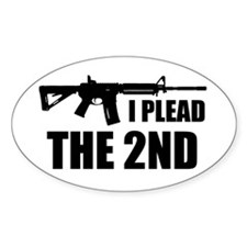 I Plead The 2nd Decal
