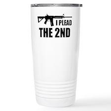 I Plead The 2nd Travel Mug