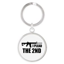 I Plead The 2nd Keychains