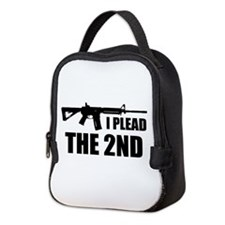 I Plead The 2nd Neoprene Lunch Bag