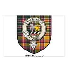 Williams Clan Crest Tartan Postcards (Package of 8