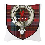 Young Clan Crest Tartan Woven Throw Pillow