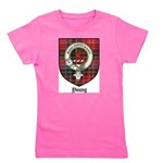 Young Clan Crest Tartan Girl's Tee