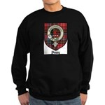 Young Clan Crest Tartan Sweatshirt (dark)