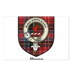 Young Clan Crest Tartan Postcards (Package of 8)