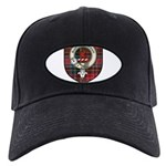 Young Clan Crest Tartan Black Cap