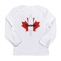 3-Canada-Leaf.jpg Long Sleeve Infant T-Shirt