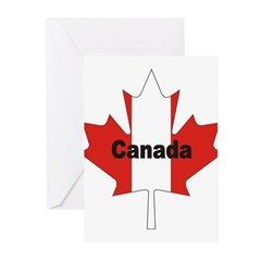 3-Canada-Leaf.jpg Greeting Cards (Pk of 20)