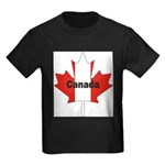 3-Canada-Leaf.jpg Kids Dark T-Shirt