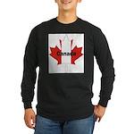 3-Canada-Leaf.jpg Long Sleeve Dark T-Shirt