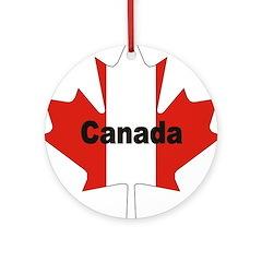 3-Canada-Leaf.jpg Ornament (Round)