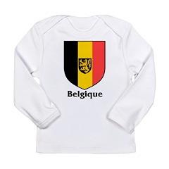 Belgique.jpg Long Sleeve Infant T-Shirt