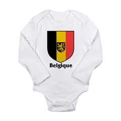 Belgique.jpg Long Sleeve Infant Bodysuit