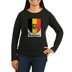 Belgique.jpg Women's Long Sleeve Dark T-Shirt