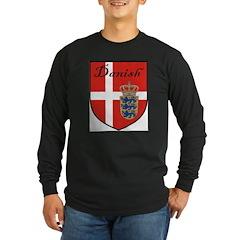Danish Flag Crest Shield T
