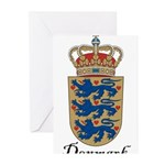 Denmark-COA.jpg Greeting Cards (Pk of 20)