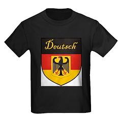 Deutsch Flag Crest Shield T