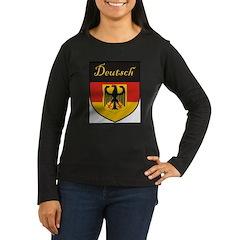 Deutsch Flag Crest Shield T-Shirt