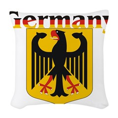 germany1.jpg Woven Throw Pillow