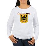 germany1.jpg Women's Long Sleeve T-Shirt