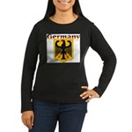 germany1.jpg Women's Long Sleeve Dark T-Shirt