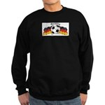 GermanySoccer.jpg Sweatshirt (dark)