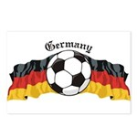 GermanySoccer.jpg Postcards (Package of 8)