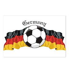 GermanySoccer.jpg Postcards (Package of 8)