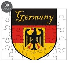 Germany Flag Crest Shield Puzzle